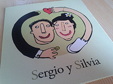 """Invitación boda """"Sergio & Silvia"""""""