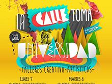 La calle toma la universidad 2014 / Facultad Filosofía y Letras (GRANADA)
