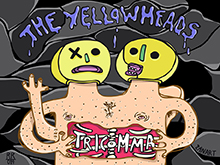 "Portada para el primer album de ""The Yellowheads"""
