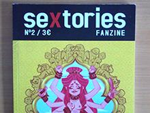 "Ilustración ""sextories fanzine"" nº2"
