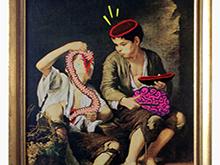 """""""Niños comiendo chistorra"""" / 2014"""
