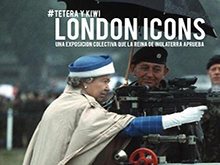 "Exposición colectiva ""London icons"""