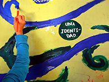 """Mural """"Derechos del Niño"""""""